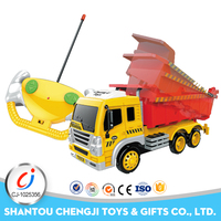 Cheap 1:16 scale diecast remote control dump truck toys model