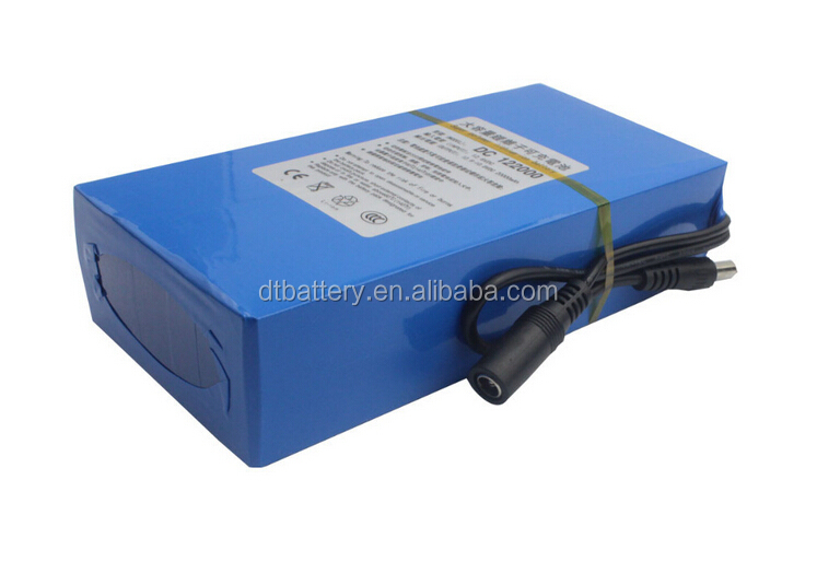 DC 12V lithium ion battery for digital products