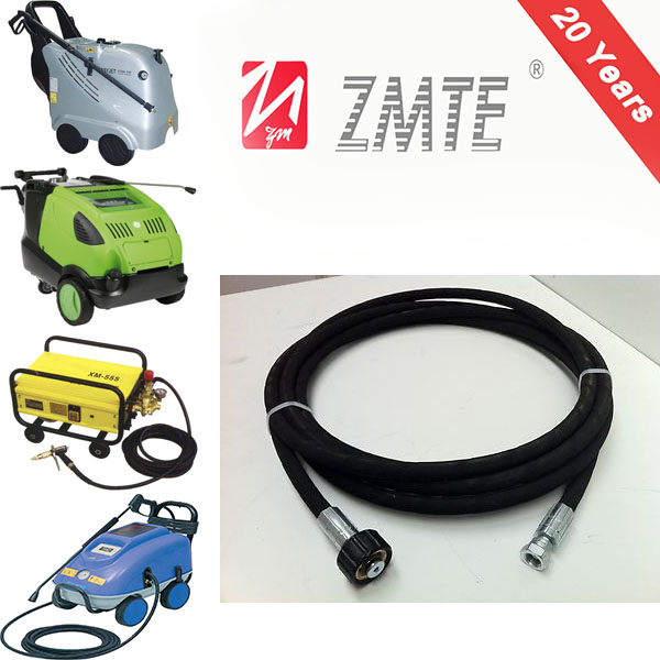 ZMTE 1/2 inch Steel Wire Braided / colorful insulated flexible hot water hose