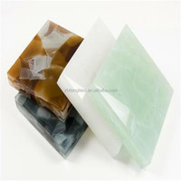 Alibaba Building Glass Decorative Jasper Glass