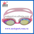 PC lens silicone best waterproof swimming goggles