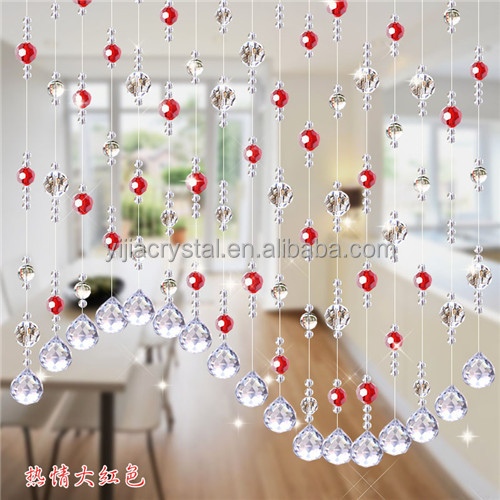 Interior Home Decor crystal bead curtains for doors