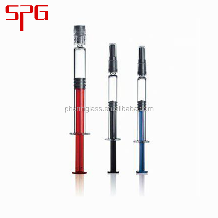 New design fashion low price 1m,2.25ml,3ml safety retractable syringe