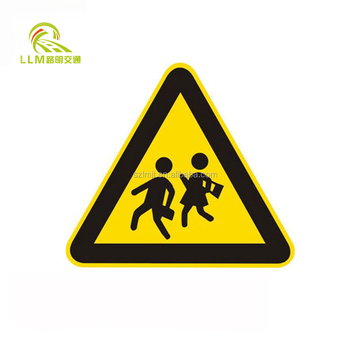Wholesale customized solar power led aluminum road signs