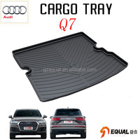 For Audi Q7 trunk mat water proof trunk tray 3D car mar