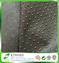 Kingsda non slip nonwoven fabric with silica gel point