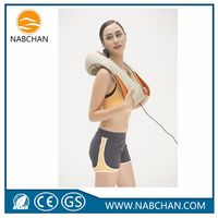 best selling personal massager neck massage machine heating roll body massager for home and car
