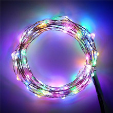 RGB Dream Flashing Color 10M 100Leds LED Wire String Lights Xmas Holidays Party multi colored battery operated led fairy lights