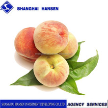 Import agent of peach sweet