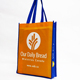 Promotional Hotel Disposable Making Material Nylon Handle Non Woven Bag