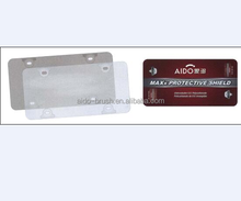 American customized cars licences plate frame