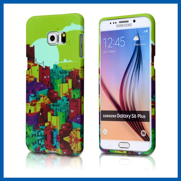 C&T Fancy pattern tpu case cover for samsung galaxy s6 plus