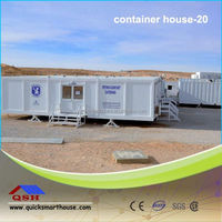 Low price prebuilt container home prefab