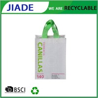 Wholesale china products promotional shopping bags reusable/custom recyclable bags/compact shopping bag