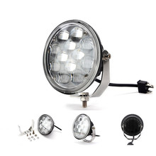 5.7inch 36W Round LED Drive Light High Low Beam Projector Lens For ATV Tractor Truck Offroad fog Light Headlight LED Worklight