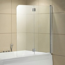 5 mm glass bath screen with hinge,shower screen,shower enclosure