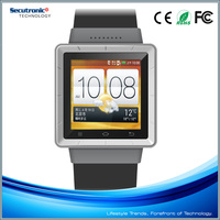 1.5 Inch No.1 Sun S2 Smart Watch With Android 4.0 And MTK6577 Dual Core Support 3G WCDMA GPS