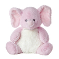 100% Cotton Material and Elephant Type Stuffed Plush Elephants