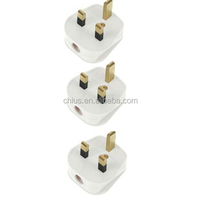 3 Pin 13A Fused Mains Appliance Plugs
