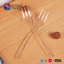 EPK new arrival 9.5cm long disposable plastic cooking fork