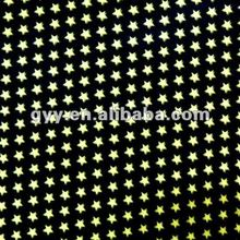 Black/Gold Stars Wrapping Paper