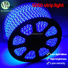 220V LED Strip Light 100M BLUE SMD 5050 60 LED/M High Lumen LED Strip 100M/Roll