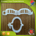 Hot Sale Best Quality Cheap White Reuse Cheap Tomato And Cucumber Plastic Grafting Clips For Sale
