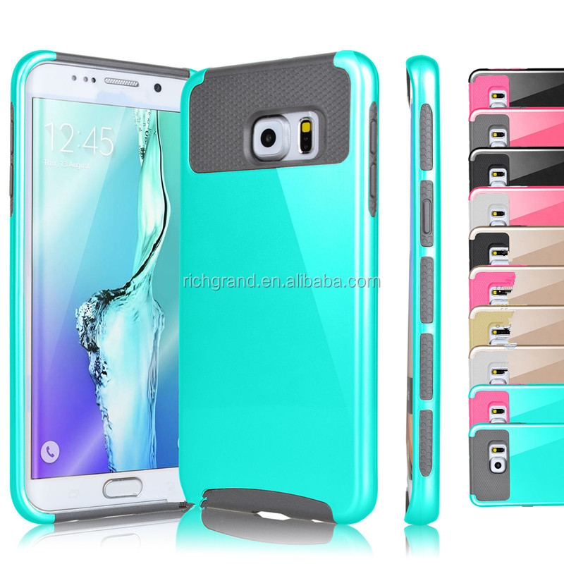 Luxury Hybrid Rugged Rubber Hard Shockproof Case Cover Skin for Samsung Galaxy S5 S6 S7