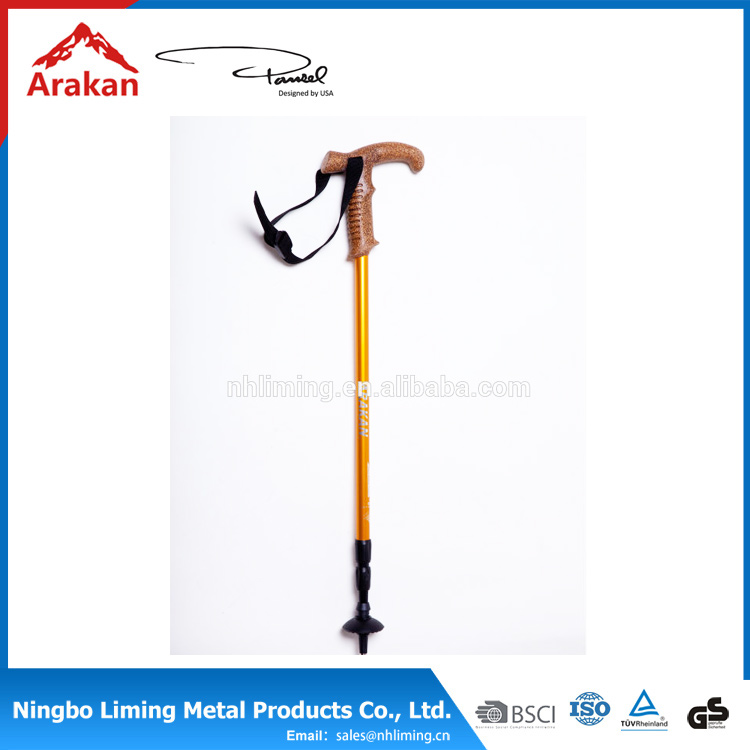 New product Aluminium alloy 3 section elderly walking stick elderly walking stick