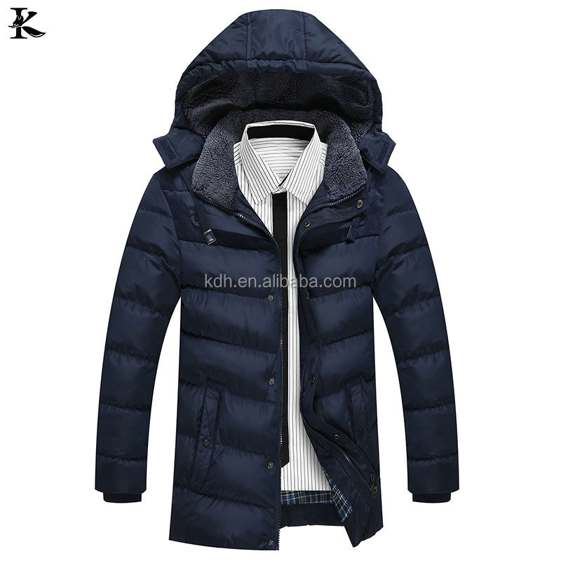 2017 Winter Mens New Deisgn Quilted Padded Fitted Down Bomber Jacket