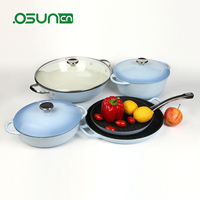 wholesale price 7pc cookware set and castamel cookware saucepan price for sale