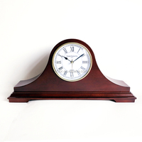 solid wood Mantel clock with Westminster chime