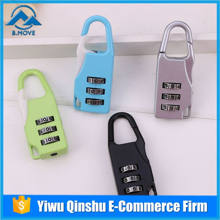 New products special design luggage strap combination lock wholesale
