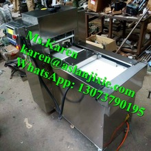 roll and cuboid meat slice cutter machine for sale/ mutton meat thin slicer machine / meat slicing machine
