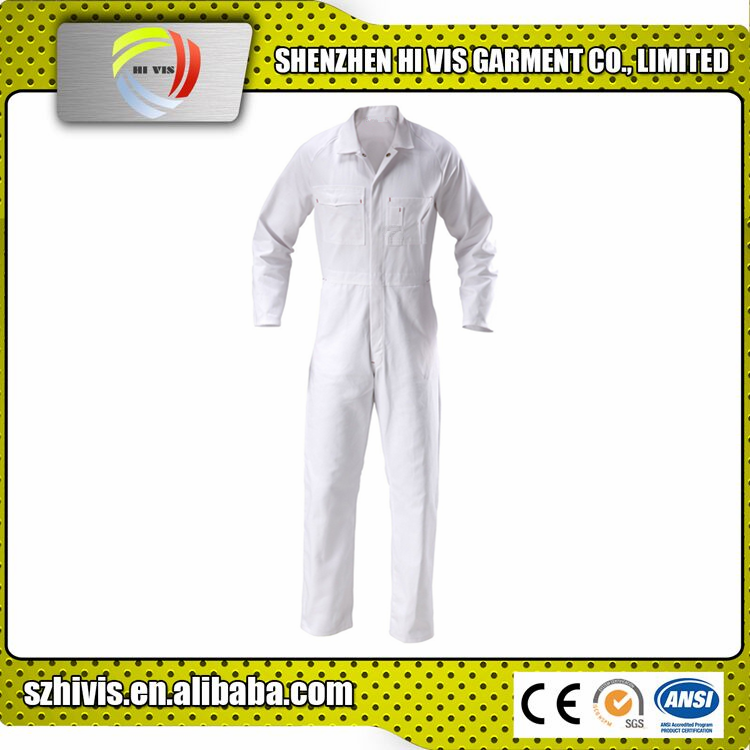 best price high quality wholesale custom made work industrial 100% cotton twill coverall