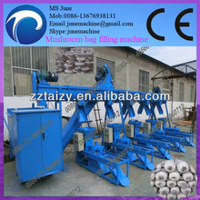 0086 13676938131 The most advanced automatic mushroom bag filling machine production line