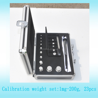 1mg-200g F1 eco stainless steel calibration weights, Oiml weihgt for Poket Digital Scale , standard weight for lab scale