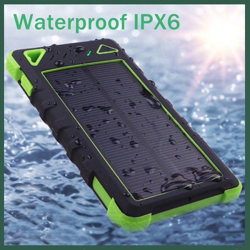 shenzhen 5v solar laptop charger solar power bank support dropshipping