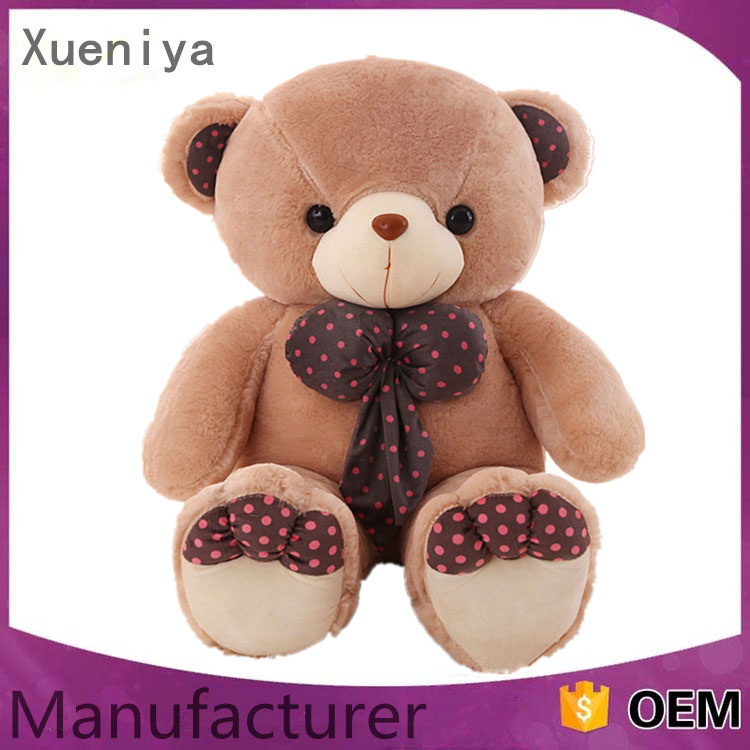 Promotion Wholesale Kids Soft Stock Plush Toys Cheap Custom Teddy Bears
