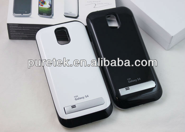 New 3200mAh portable Backup Battery Charger Case For Samsung Galaxy S4/External Backup Battery for Samsung Galaxy s4