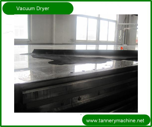 leather vacuum dryer used for tannery exporter