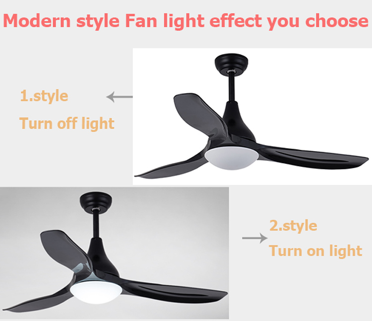 Zhongshan Good Quality Living Room Remote Control 24W Led Ceiling Fan Light Price In Pakistan