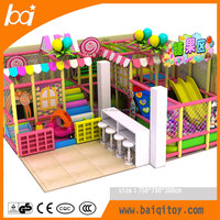 Newest commercial children park toys small indoor playground