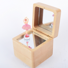 Wholesale Rectangle ballerina musical boxes with mirror