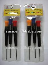 2012 Hot seller double color handle Screw driver