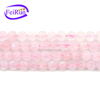 cute pumpkin shape DIY loose strings pink high quality crystal beads, wholesale crystal beads