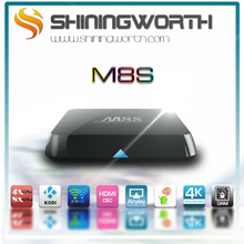 2015 top selling kodi amlogic s812 android 4.4 jailbroken M8S kodi tv box andriod smart set top box