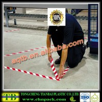 pvc self adhesive colorful floor marking tape/hot sale warning tape