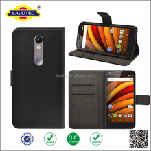 For Motorola Moto X Force Case Durable Book Style PU Leather Wallet Flip cover Case Skin Cover