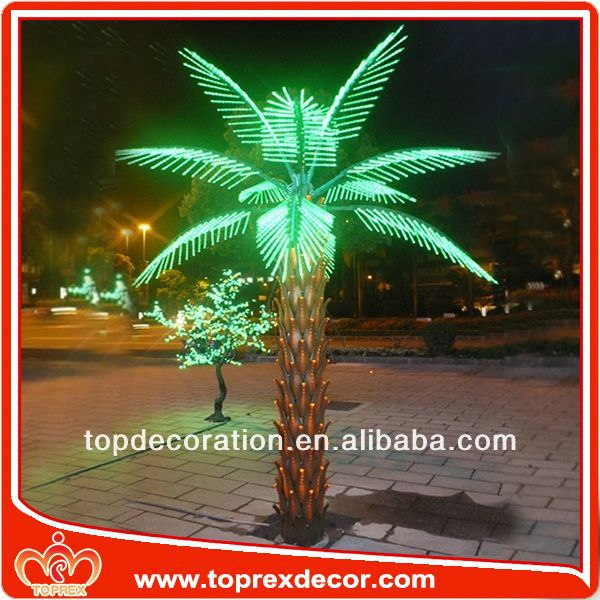 Factory palm tree table decorations